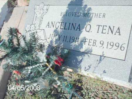 TENA, ANGELINA  Q. - Gila County, Arizona | ANGELINA  Q. TENA - Arizona Gravestone Photos