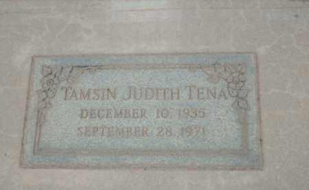 TENA, TAMSIN JUDITH - Gila County, Arizona | TAMSIN JUDITH TENA - Arizona Gravestone Photos