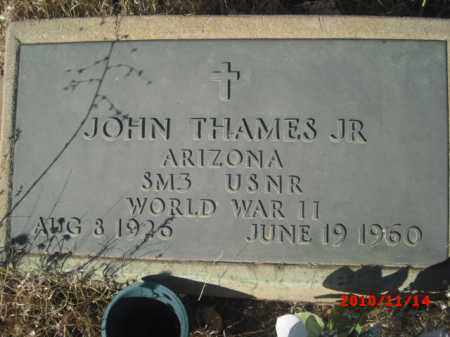 THAMES, JOHN. JR. - Gila County, Arizona | JOHN. JR. THAMES - Arizona Gravestone Photos