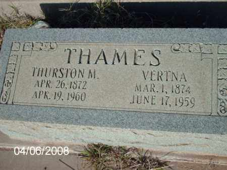 THAMES, VERTNA - Gila County, Arizona | VERTNA THAMES - Arizona Gravestone Photos