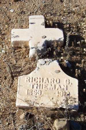 THIEMAN, RICHARD G. - Gila County, Arizona   RICHARD G. THIEMAN - Arizona Gravestone Photos