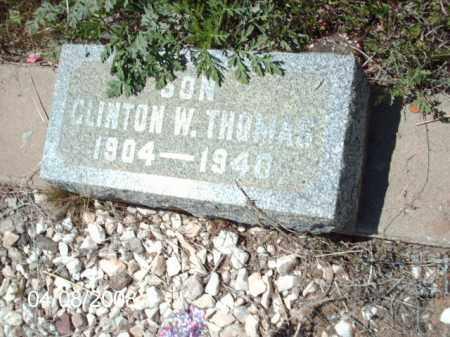 THOMAS, CLINTON W. - Gila County, Arizona   CLINTON W. THOMAS - Arizona Gravestone Photos