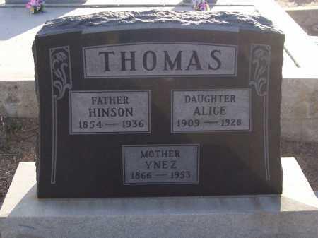 SANCHEZ THOMAS, YNEZ - Gila County, Arizona | YNEZ SANCHEZ THOMAS - Arizona Gravestone Photos