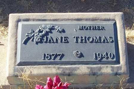 THOMAS, JANE - Gila County, Arizona | JANE THOMAS - Arizona Gravestone Photos