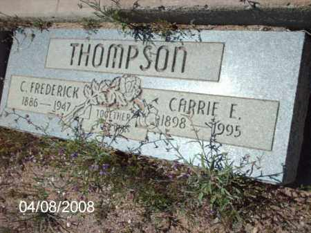 THOMPSON, C. FREDERICK - Gila County, Arizona | C. FREDERICK THOMPSON - Arizona Gravestone Photos