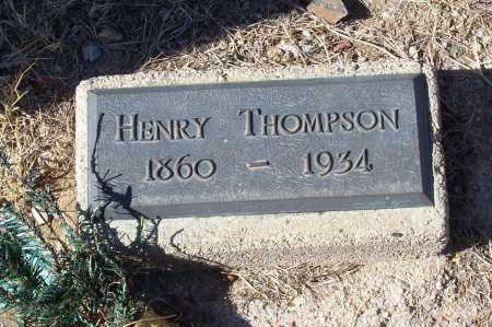 THOMPSON, HENRY - Gila County, Arizona | HENRY THOMPSON - Arizona Gravestone Photos