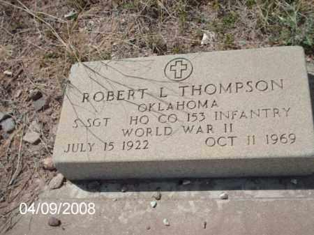 THOMPSON, ROBERT L. - Gila County, Arizona   ROBERT L. THOMPSON - Arizona Gravestone Photos