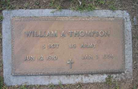 THOMPSON, WILLIAM - Gila County, Arizona   WILLIAM THOMPSON - Arizona Gravestone Photos