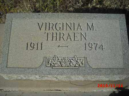 THRAEN, VERGINIA M. - Gila County, Arizona | VERGINIA M. THRAEN - Arizona Gravestone Photos