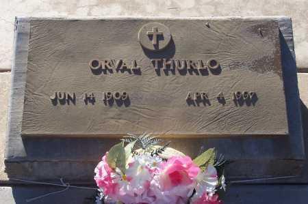THURLO, ORVAL - Gila County, Arizona   ORVAL THURLO - Arizona Gravestone Photos