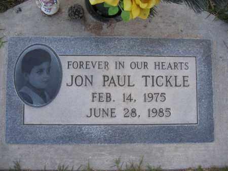 TICKLE, JON - Gila County, Arizona | JON TICKLE - Arizona Gravestone Photos