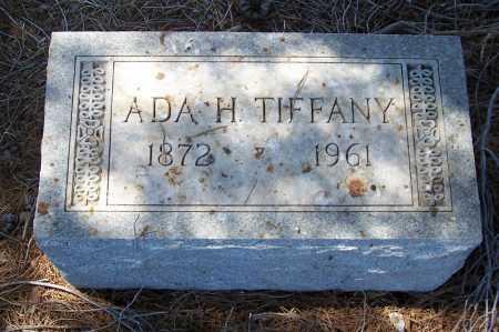 TIFFANY, ADA H. - Gila County, Arizona | ADA H. TIFFANY - Arizona Gravestone Photos