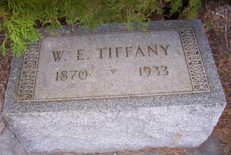 TIFFANY, W.E. - Gila County, Arizona | W.E. TIFFANY - Arizona Gravestone Photos