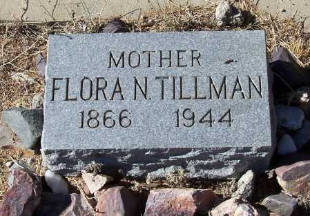 NESBITT TILLMAN, FLORA N. - Gila County, Arizona | FLORA N. NESBITT TILLMAN - Arizona Gravestone Photos
