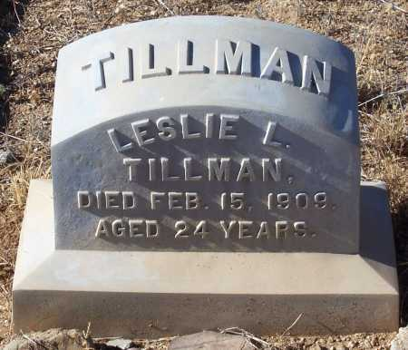 TILLMAN, LESLIE L. - Gila County, Arizona | LESLIE L. TILLMAN - Arizona Gravestone Photos