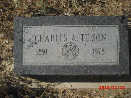 TILSON, CHARLES  A. - Gila County, Arizona | CHARLES  A. TILSON - Arizona Gravestone Photos