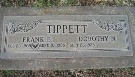 TIPPET, FRANK E. - Gila County, Arizona | FRANK E. TIPPET - Arizona Gravestone Photos