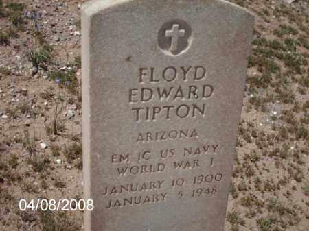TIPTON, FLOYD EDWARD - Gila County, Arizona | FLOYD EDWARD TIPTON - Arizona Gravestone Photos