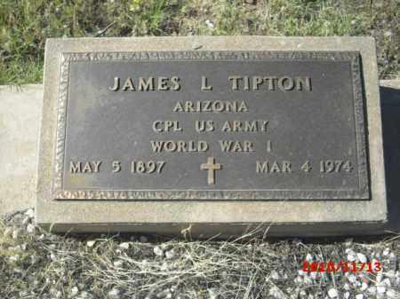 TIPTON, JAMES L. - Gila County, Arizona   JAMES L. TIPTON - Arizona Gravestone Photos
