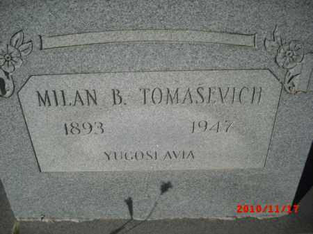 TOMASEVICH, MILAN B. - Gila County, Arizona | MILAN B. TOMASEVICH - Arizona Gravestone Photos