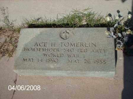 TOMERLIN, ACE - Gila County, Arizona | ACE TOMERLIN - Arizona Gravestone Photos