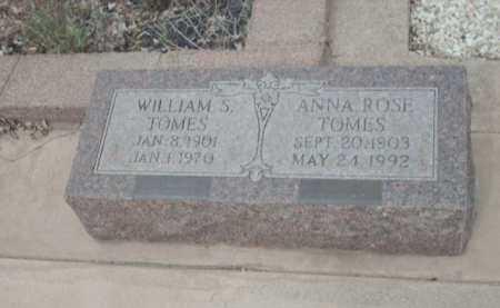 TOMES, WILLIAM S. - Gila County, Arizona | WILLIAM S. TOMES - Arizona Gravestone Photos