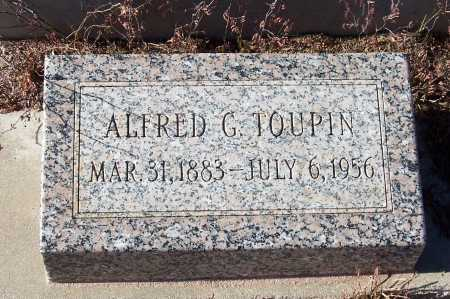 TOUPIN, ALFRED G. - Gila County, Arizona | ALFRED G. TOUPIN - Arizona Gravestone Photos