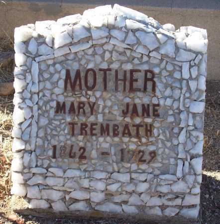 MADDERN TREMBATH, MARY JANE - Gila County, Arizona | MARY JANE MADDERN TREMBATH - Arizona Gravestone Photos