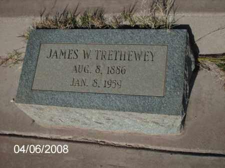 TRETHEWEY, JAMES W. - Gila County, Arizona | JAMES W. TRETHEWEY - Arizona Gravestone Photos