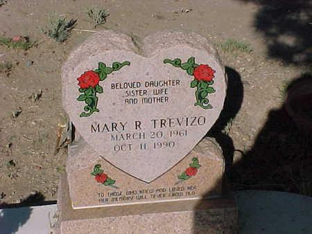 TREVIZO, MARY R. - Gila County, Arizona | MARY R. TREVIZO - Arizona Gravestone Photos