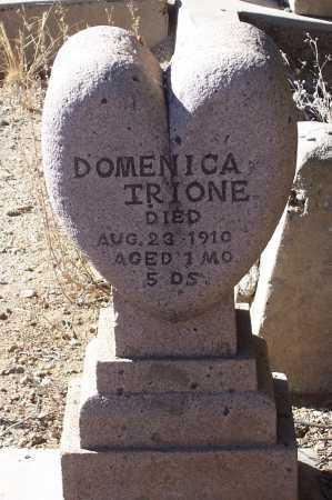TRIONE, DOMENICA - Gila County, Arizona | DOMENICA TRIONE - Arizona Gravestone Photos