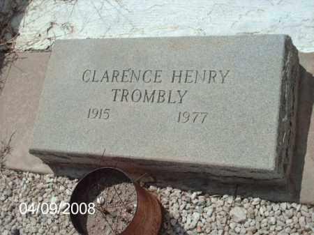 TROMBLY, CLARENCE HENRY - Gila County, Arizona | CLARENCE HENRY TROMBLY - Arizona Gravestone Photos