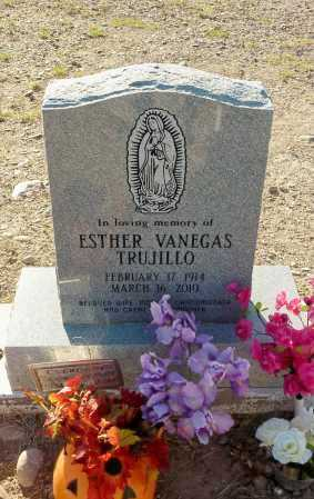 TRUJILLO, ESTHER  VANEGAS - Gila County, Arizona | ESTHER  VANEGAS TRUJILLO - Arizona Gravestone Photos