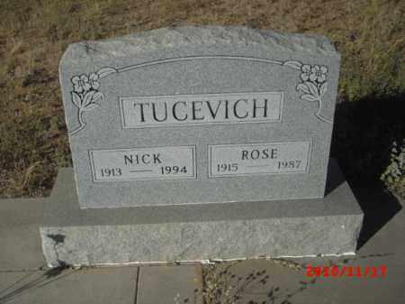 TUCEVICH, ROSE - Gila County, Arizona | ROSE TUCEVICH - Arizona Gravestone Photos