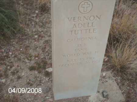 TUTTLE, VERNON ADELL - Gila County, Arizona | VERNON ADELL TUTTLE - Arizona Gravestone Photos