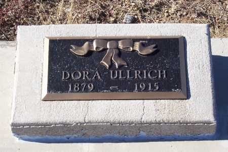 THOW ULLRICH, DORA - Gila County, Arizona | DORA THOW ULLRICH - Arizona Gravestone Photos