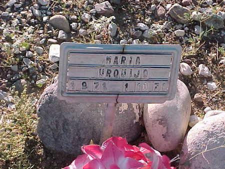 URQUIJO, MARIA - Gila County, Arizona   MARIA URQUIJO - Arizona Gravestone Photos