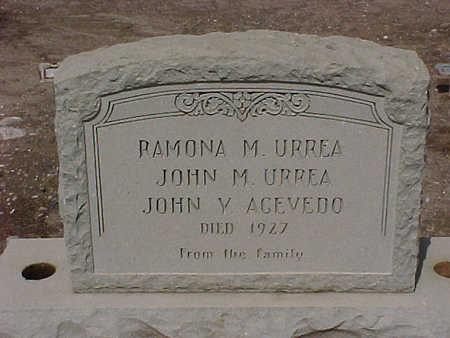 URREA, ROMONA - Gila County, Arizona | ROMONA URREA - Arizona Gravestone Photos