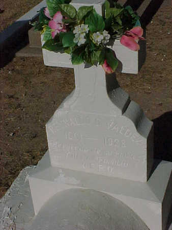 VALDEZ, REYNALDO  G. - Gila County, Arizona   REYNALDO  G. VALDEZ - Arizona Gravestone Photos