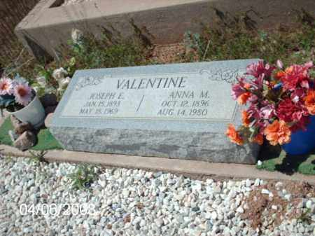VALENTINE, ANNA M. - Gila County, Arizona | ANNA M. VALENTINE - Arizona Gravestone Photos