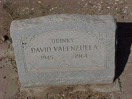 "VALENZUELA, DAVID ""QUINKY"" - Gila County, Arizona   DAVID ""QUINKY"" VALENZUELA - Arizona Gravestone Photos"