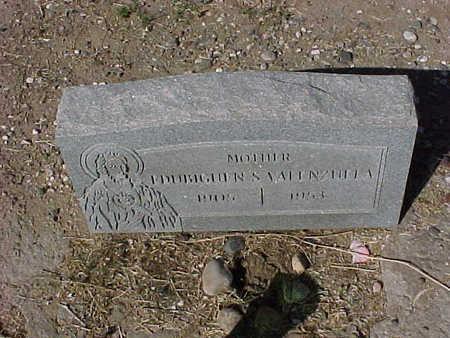 VALENZUELA, EDUBIGUEN  S. - Gila County, Arizona | EDUBIGUEN  S. VALENZUELA - Arizona Gravestone Photos