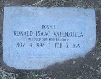 VALENZUELA, RONALD - Gila County, Arizona | RONALD VALENZUELA - Arizona Gravestone Photos