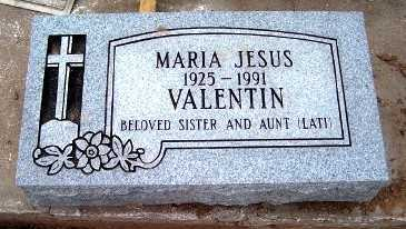 VALENTIN, MARIA JESUS - Gila County, Arizona | MARIA JESUS VALENTIN - Arizona Gravestone Photos