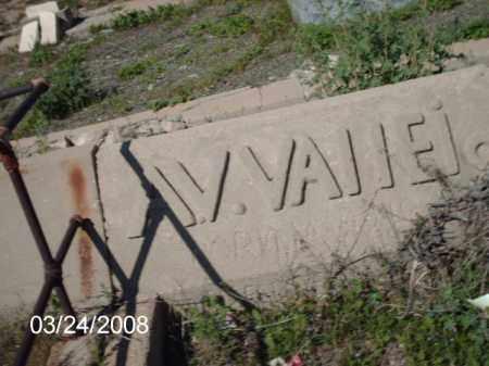 VALLEIO, A. - Gila County, Arizona | A. VALLEIO - Arizona Gravestone Photos