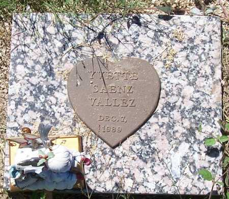 VALLEZ, YVETTE SAENZ - Gila County, Arizona | YVETTE SAENZ VALLEZ - Arizona Gravestone Photos