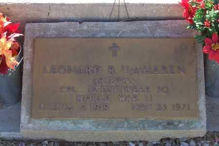VAN HAREN, LEONARD R. - Gila County, Arizona | LEONARD R. VAN HAREN - Arizona Gravestone Photos
