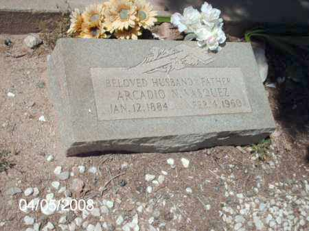 VASQUEZ, ARCADIO - Gila County, Arizona | ARCADIO VASQUEZ - Arizona Gravestone Photos