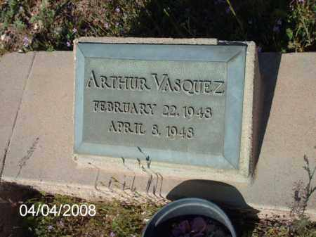 VASQUEZ, ARTHUR - Gila County, Arizona | ARTHUR VASQUEZ - Arizona Gravestone Photos