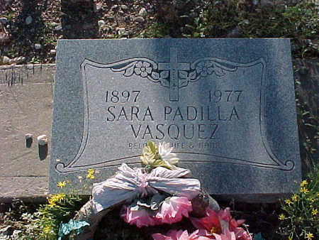 VASQUEZ, SARA PADILLA - Gila County, Arizona | SARA PADILLA VASQUEZ - Arizona Gravestone Photos